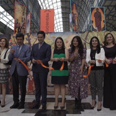 Inauguración exposición Diego Rivera y Frida Kahlo